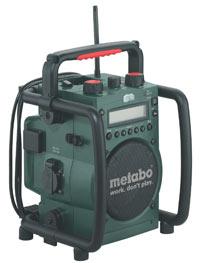 Baustellenradio Metabo RC 14.4-18