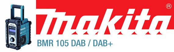 Makita BMR 105 DAB / DAB+