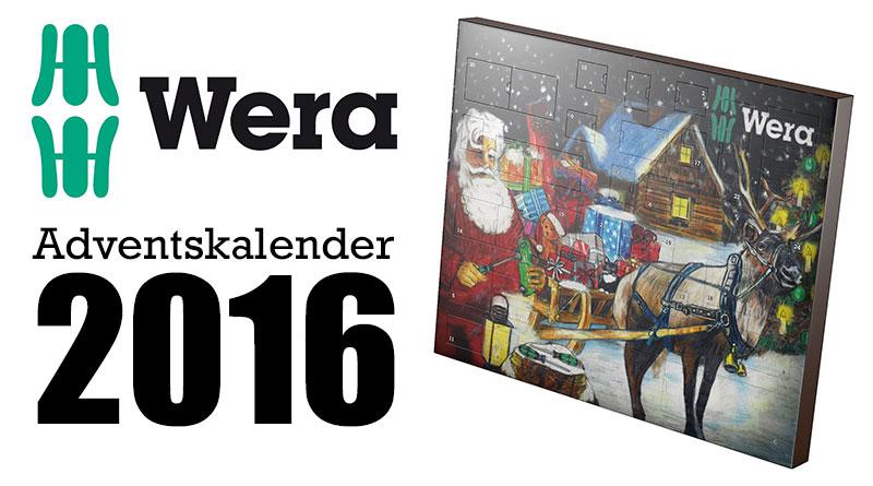 Wera Advenskalender 2016