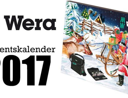 Wera Werkzeug Adventskalender 2017